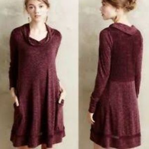 Anthropologie Saturday Sunday Cowl Neck Dress